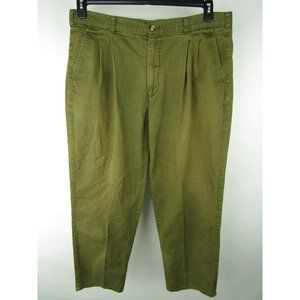 VINTAGE Fairway Blues Pleated Front Chino Pants